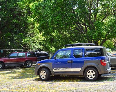 servicios los camachos estacionamiento